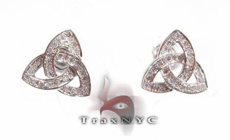 Illuminati Earrings Stone