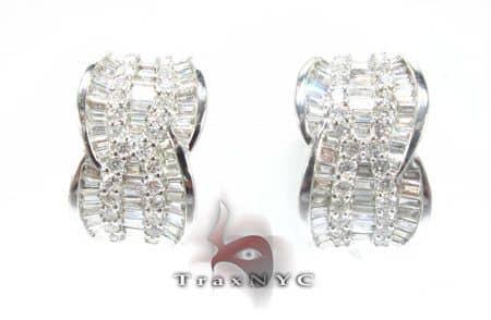 Decal Earrings Stone
