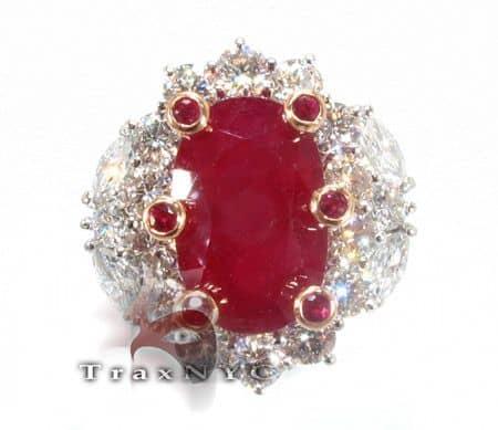 Custom Jewelry - Ruby Betwixt Ring 7601 Anniversary/Fashion