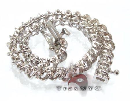 Tunnel Bracelet 7763 Diamond