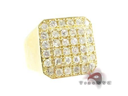 TraxNYC Light 14k Yellow Gold Ring Stone