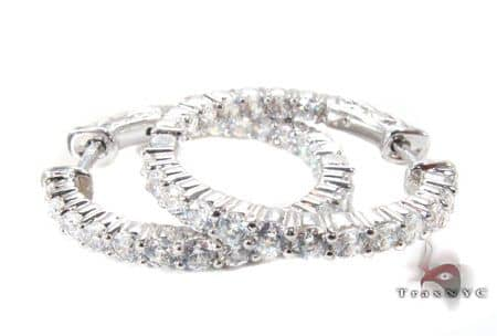 Sterling Silver Hoop Earrings 5 9249 Metal
