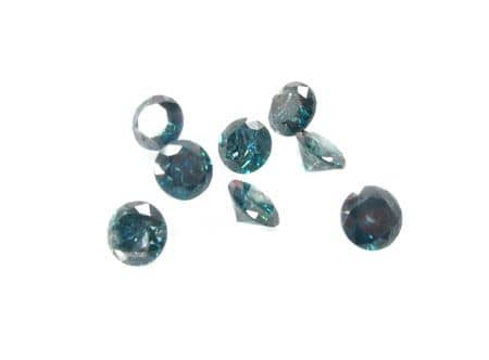 Two Blue 0.50ct Diamonds Loose-Diamonds