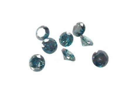 Two Blue 0.50ct Diamonds Loose-Diamonds