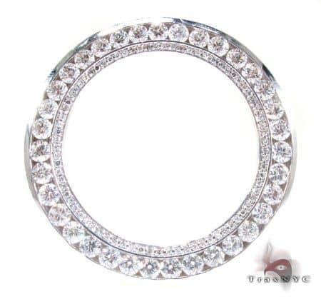 14K White Gold XL Junior Bezel Watch Accessories