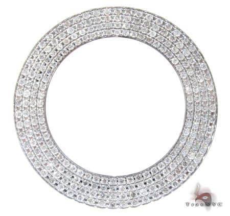 White 4 Row Junior Bezel Watch Accessories