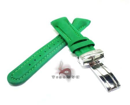 Benny & Co Men's Green Polyurethane Band Watch Accessories