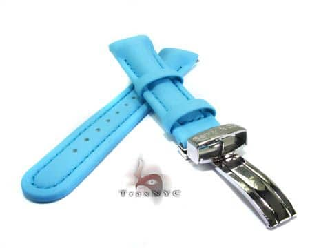 Benny & Co Men's Sky Blue Polyurethane Band Watch Accessories