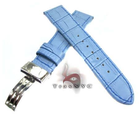Aquamaster Sky Blue Leather Band 14mm Watch Accessories