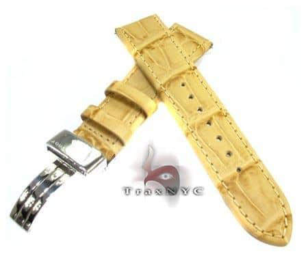 Aquamaster Ivory Leather Band 20mm Watch Accessories