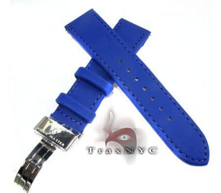 Aquamaster Blue Polyurethane Band 14mm Watch Accessories