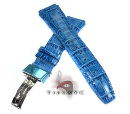 Aquamaster Blue Leather Band 12mm Watch Accessories