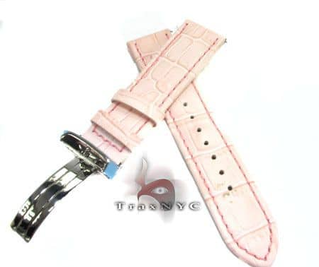 Aquamaster Pink Leather Band 20mm Watch Accessories