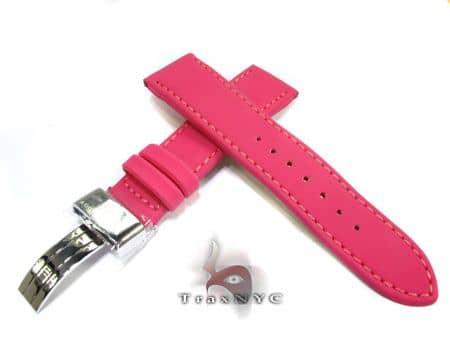 Aquamaster Pink Polyurethane Band 14mm Watch Accessories