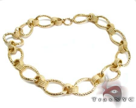 Golden Link Necklace Gold