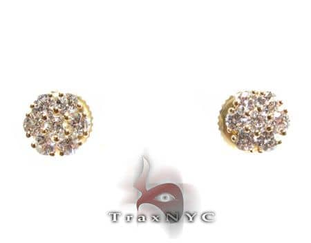 Mini Yellow Blossom Studs Stone