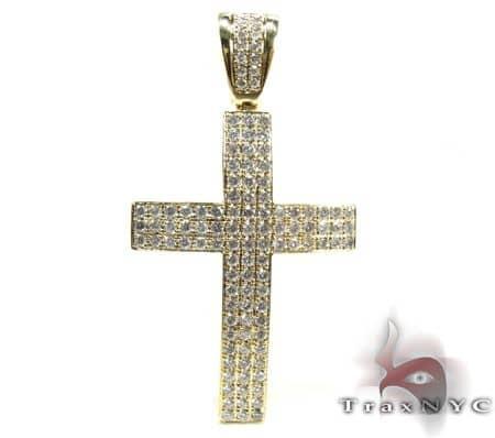 Milano Cross Crucifix 2 Diamond
