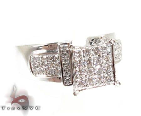 Ladies Razor Ring 2 Anniversary/Fashion