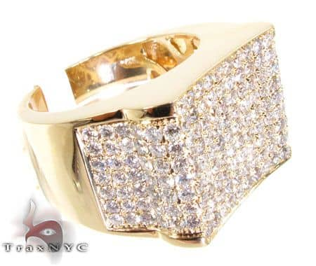 Men's Diamond Modern Ring Stone