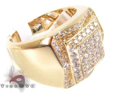 YG Layer Ring 2 Stone