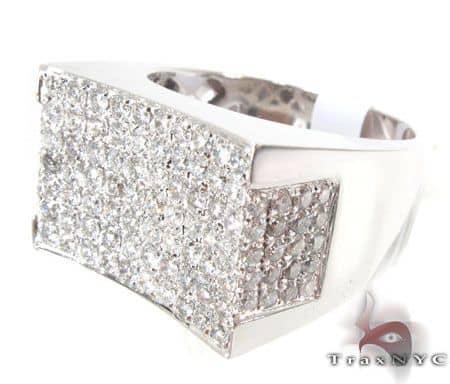 WG Men's Modern Ring 4 Stone