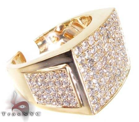YG Tri-Side Ring Stone