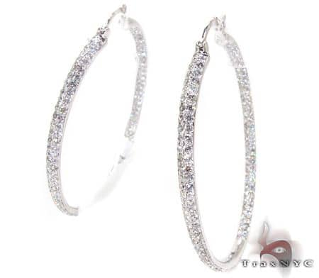 Queen Oval Hoops Stone