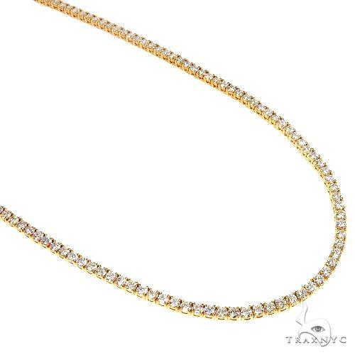 0.065 Pointer Parcel Diamond Tennis Chain 66911 Diamond