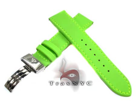 Aquamaster Green Polyurethane Band 14mm Watch Accessories