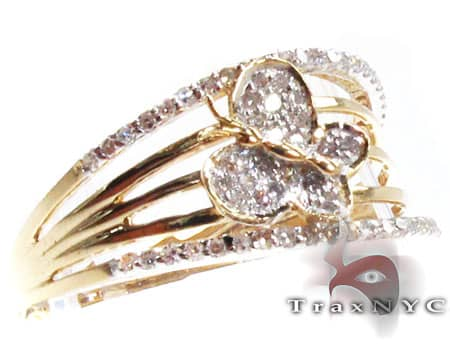 Ladies Butterfly Ring Anniversary/Fashion