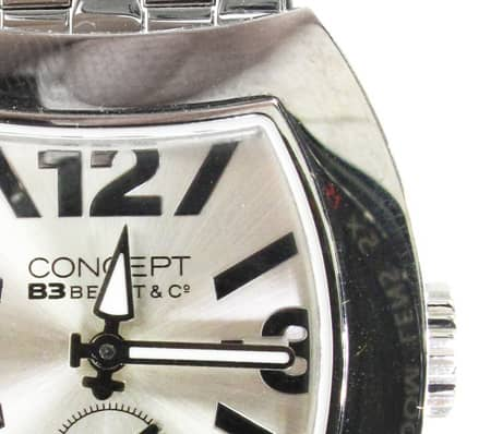 Concept Silver Dial Watch CB03 SSB 10507 Special Watches