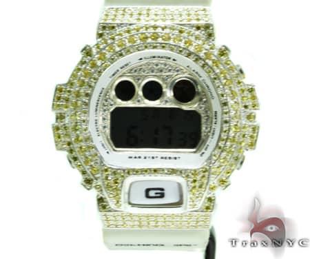 White Gold G-Shock Illuminator Case G-Shock