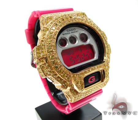 Yellow Gold G-Shock Case G-Shock