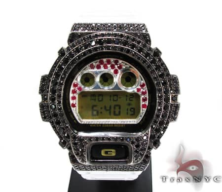 Black Gold Red Ruby G-Shock Case G-Shock