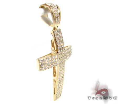 Milano Cross Crucifix 2 Diamond