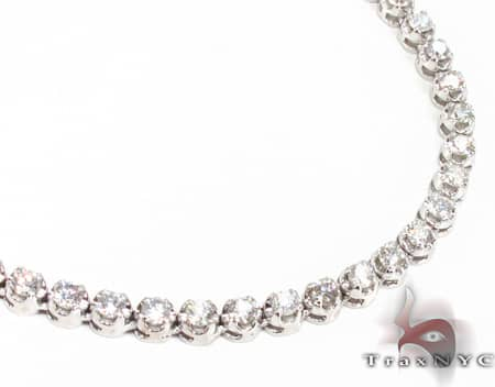 Polar Iced Diamond Chain 30 Inches, 4.33mm, 53.50 Grams Diamond