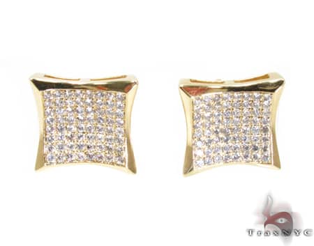 YG Sharp Earrings Stone