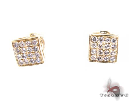 YG Ares Earrings Stone