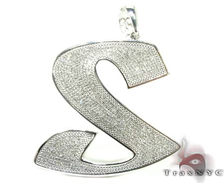 Graffiti S Pendant Metal