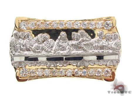 CZ 10K Gold Ring 33215 Metal