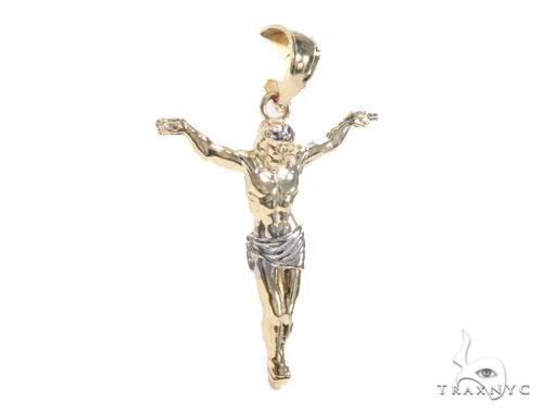 10K Gold Crucifix 44789 Style