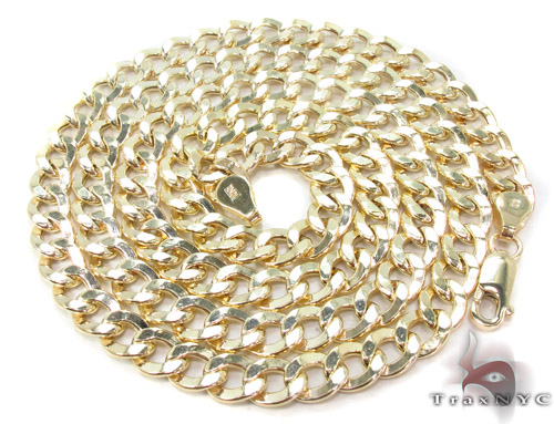 10K Gold Cuban Chain 24 Inches, 6.5mm, 19.5 Grams Gold