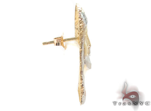 10K Gold Earrings 34151 Metal