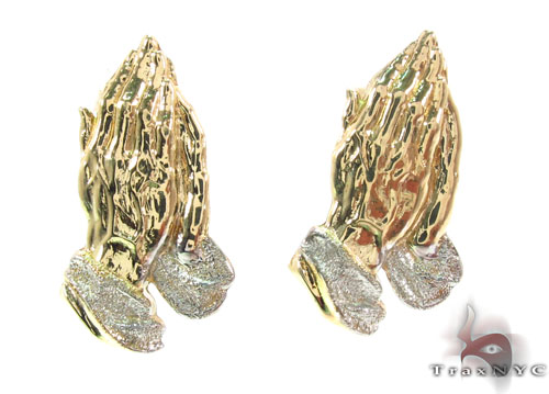 10K Gold Earrings 34175 Metal