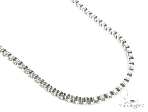 10K Gold Fancy Chain 34 Inches 3mm 15 Grams Gold