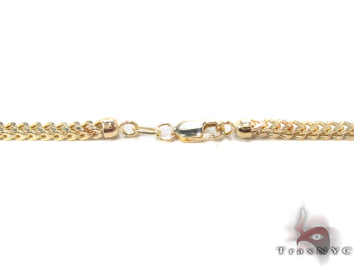 10K Gold Franco Chain 26 Inches, 2.5mm, 11.5 Grams Gold