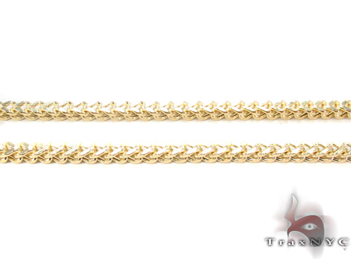 10K Gold Franco Chain 30 Inches, 2mm, 12.5 Grams Gold