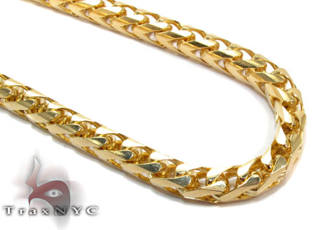 10K Gold Franco Chain 36 Inches 5mm 131 Grams Gold