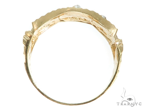 10K Gold Last Supper Ring 58447 Metal