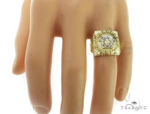 10K Gold Medusa Ring 58449 Metal
